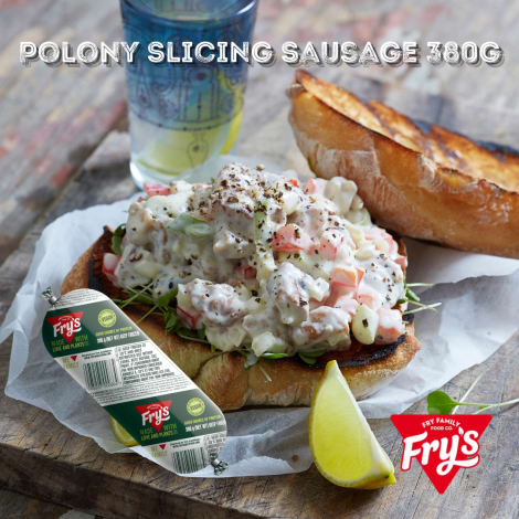 Fry's Polony Slicing Sausage 500g (Extended Shelf Life) - Our Polony is a personal Fry family favourite! Whether you are packin…
