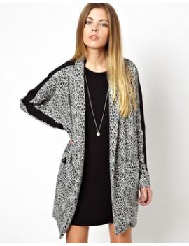 noisy-may-snake-printed-oversized-blazer by noisy-may