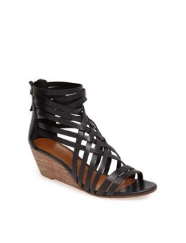 neta-leather-wedge-sandal by hinge