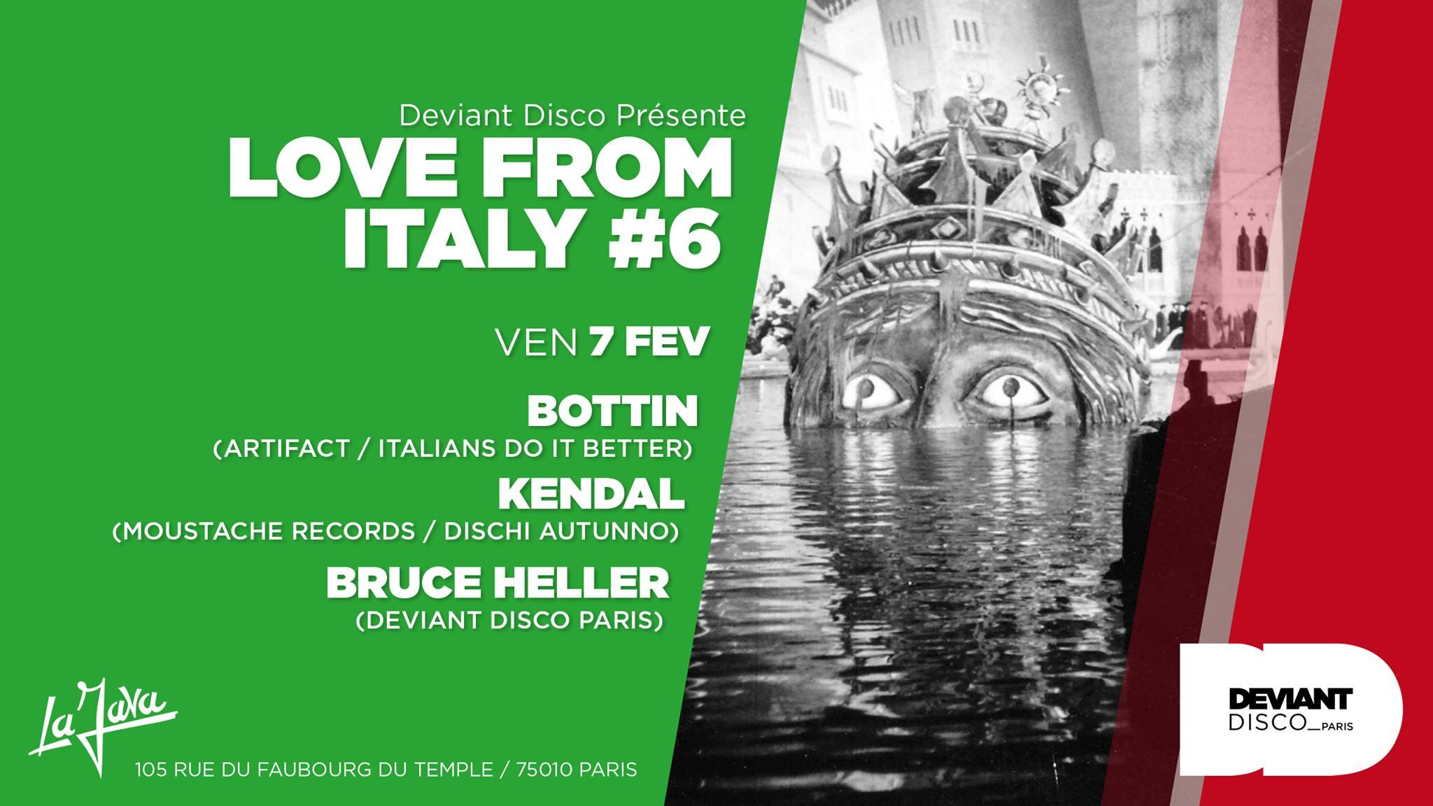 Love from Italy #6 / Bottin / Kendal / Bruce Heller