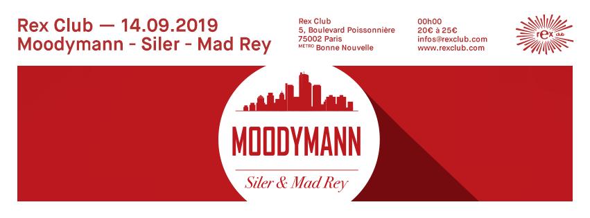 Rex Club presente: Moodymann, Siler, Mad Rey