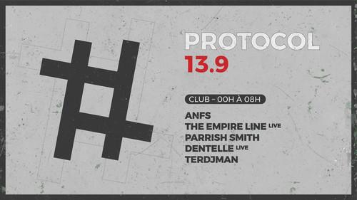 13.9 : ANFS | The Empire Line (live) | Parrish Smith | Dentelle (live) | Terdjman