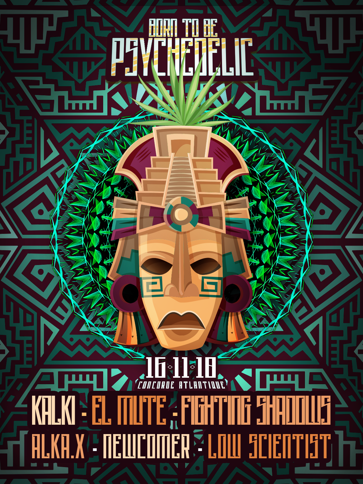 ❂ Born to be Psychedelic / Inca special edition ❂