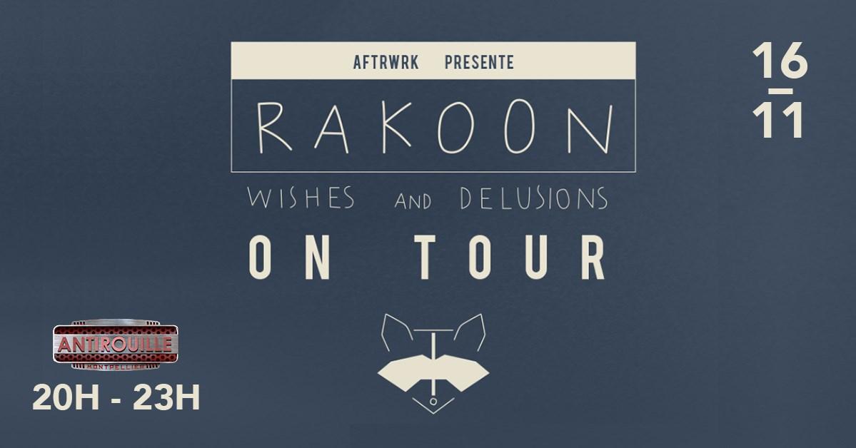 Concert RAKOON & Guest - Antirouille