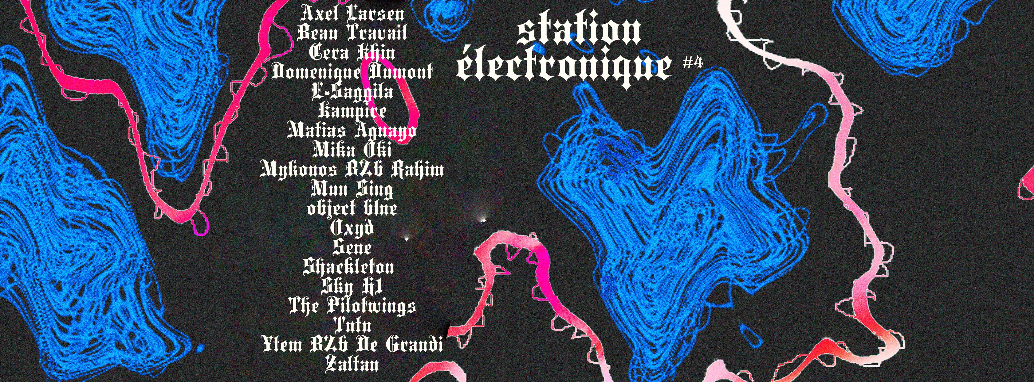 Pass Festival : Station électronique 4 — 2019
