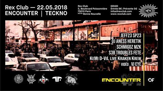 Encounter: Jeff23 DJ Aness Schmigoz S3B Kemi D-VIL Live