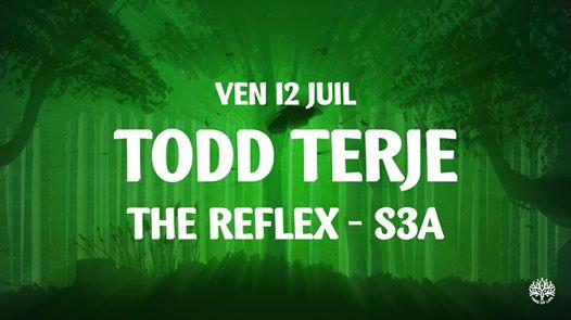 La Clairière : Todd Terje, The Reflex, S3A