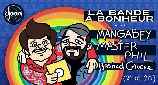 La Bande à Bonheur : Mangabey, Master Phil, Bashed Groove