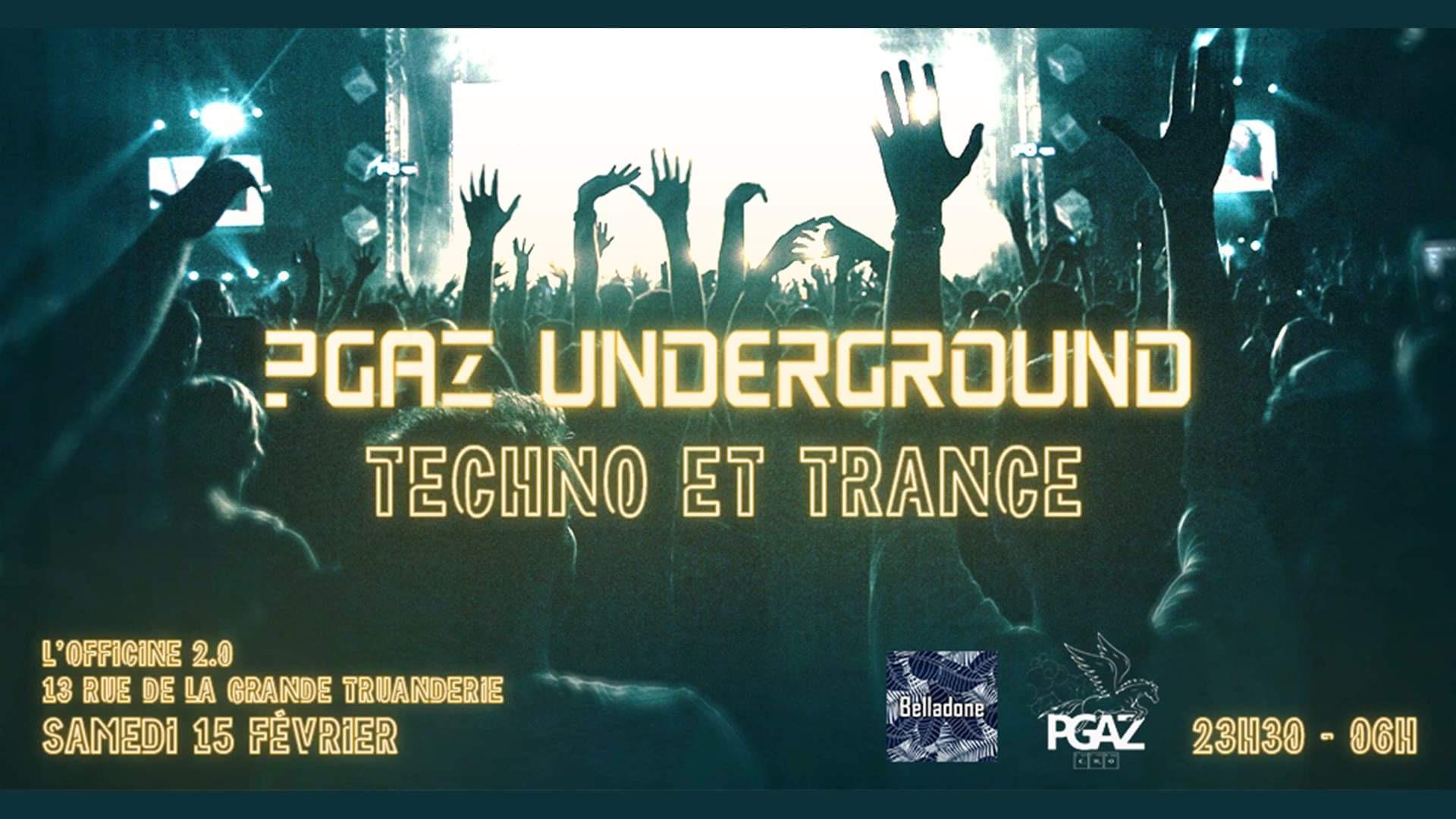 Pgaz Underground : Techno & Trance
