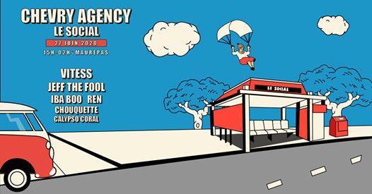 OPEN AIR ✦ Chevry Agency en terre inconnue w/ Vitess & more