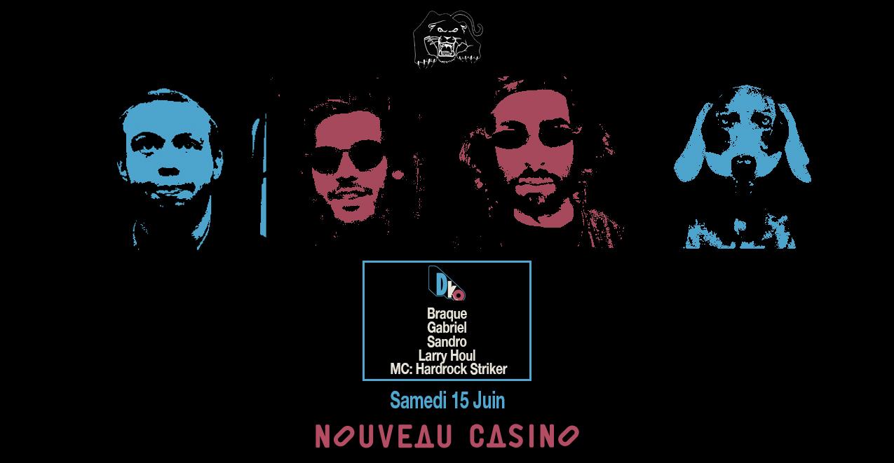 Skylax x Nouveau casino : D.ko records all night long !
