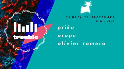 Trouble w/ Priku, Arapu, Grego G, Olivier Romero