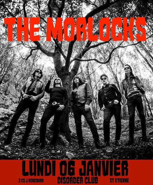 The Morlocks • Disorder, Saint-Etienne