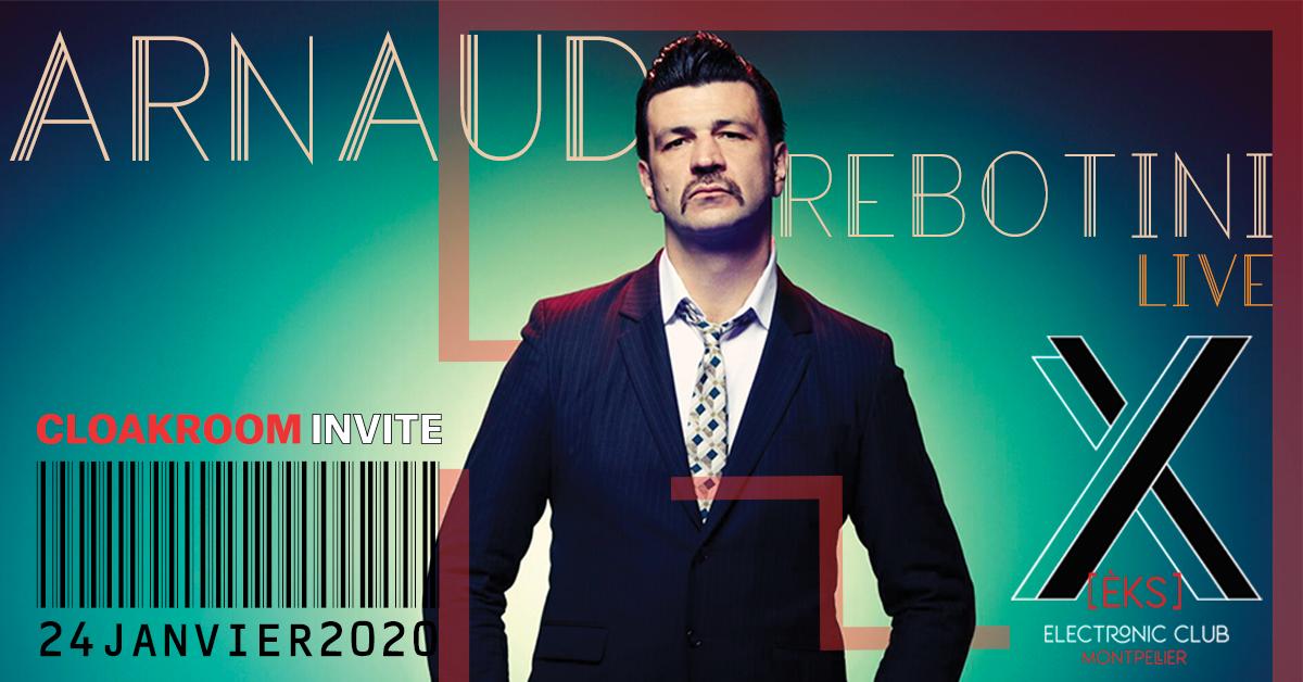 Cloakroom Invite Arnaud Rebotini (live)