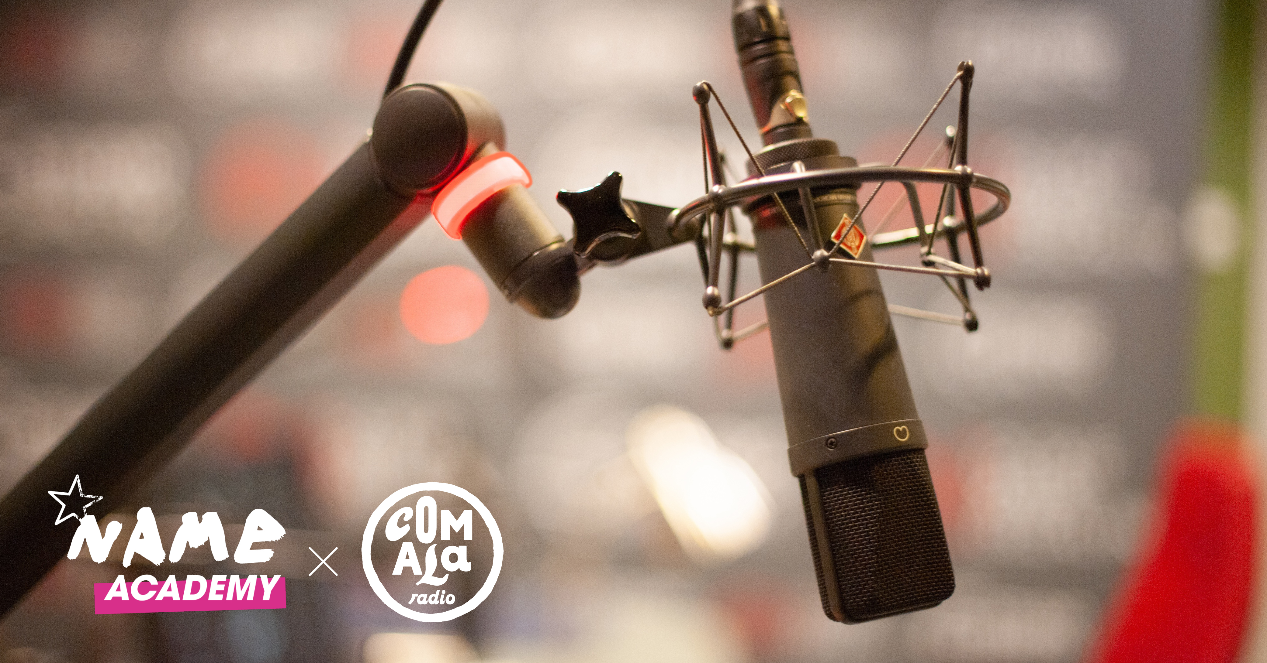 Masterclasse • Créez votre émission de radio ! | NAME Academy 2019
