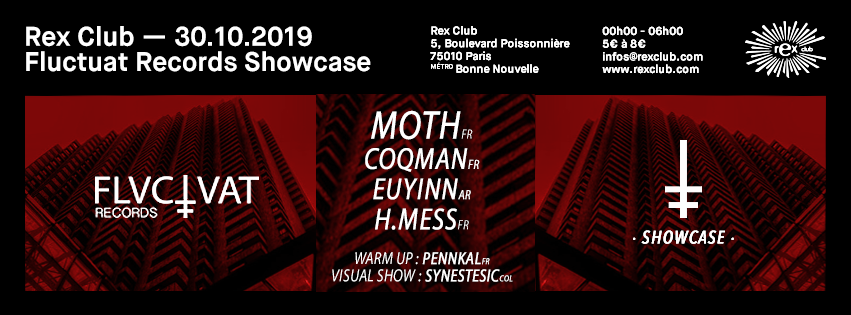 Fluctuat Records: Moth, Coqman, Euyinn, H.Mess