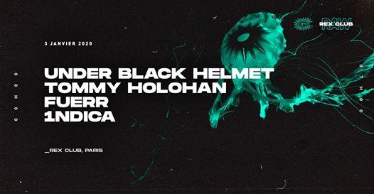 RAW x REX w/ Under Black Helmet, Tommy Holohan, Fuerr, 1ndica