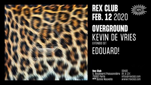 Overground: Kevin De Vries Extended Set, Edouard!
