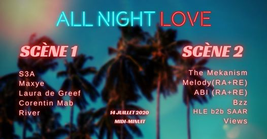 All Night Love presents : All Day Love