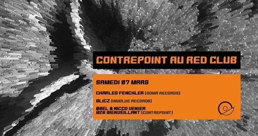 Contrepoint w/ Charles Fenckler, Blicz - RED CLUB