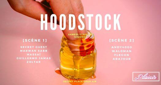 Hoodstock - Secret Open Air - 12h-00h