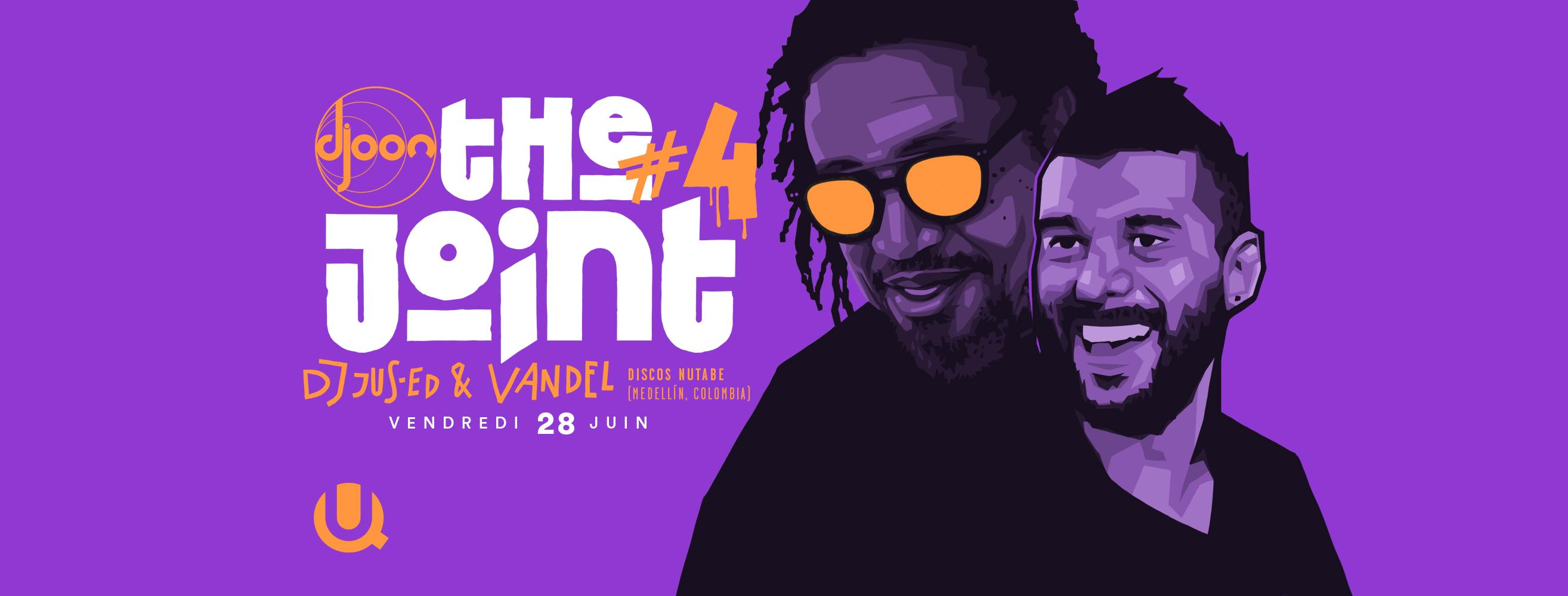 The Joint #4 : Jus-Ed & Vandel (Discos Nutabe, Medellín)