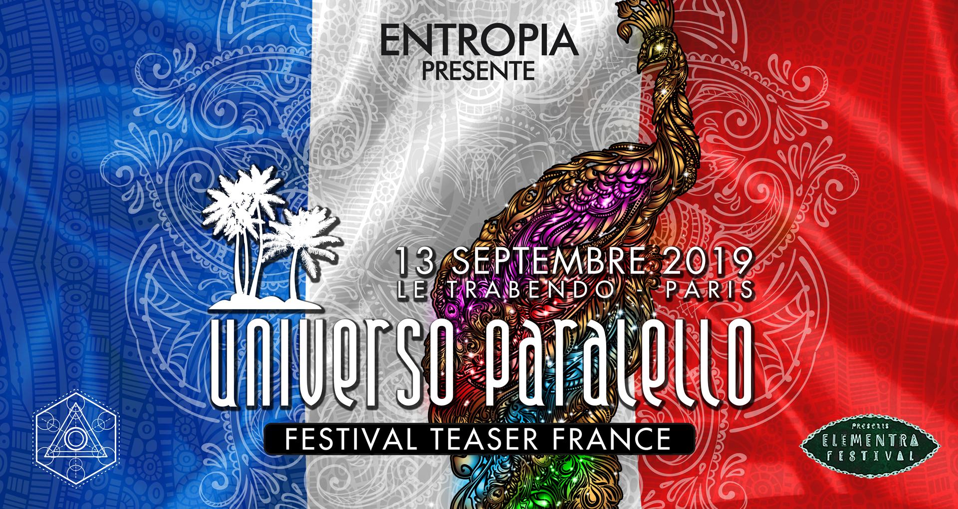 Universo Paralello Festival teaser France