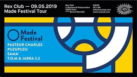 Made Festival Tour: Pasteur Charles, Puzupuzu, SAMA' & more