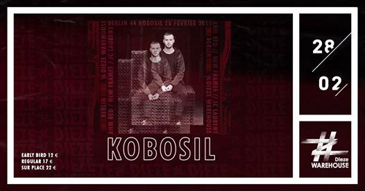 Kobosil, New Frames & Ahm Red B2B JC Laurent at Dieze Warehouse