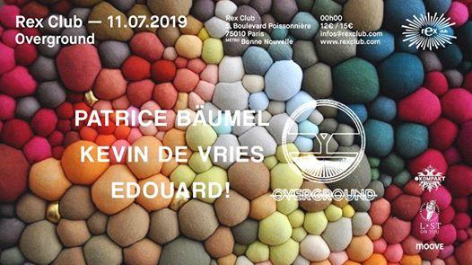 Overground: Patrice Bäumel, Kevin De Vries, Edouard