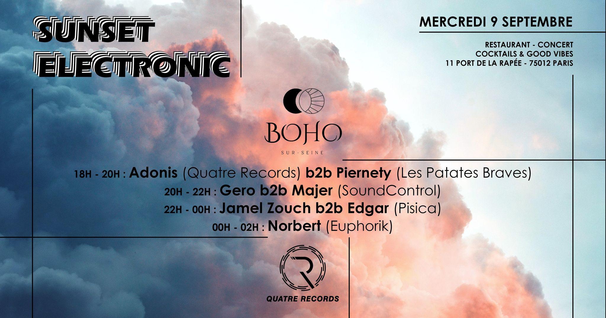 Sunset Electronic #3 : Quatre Records & Friends