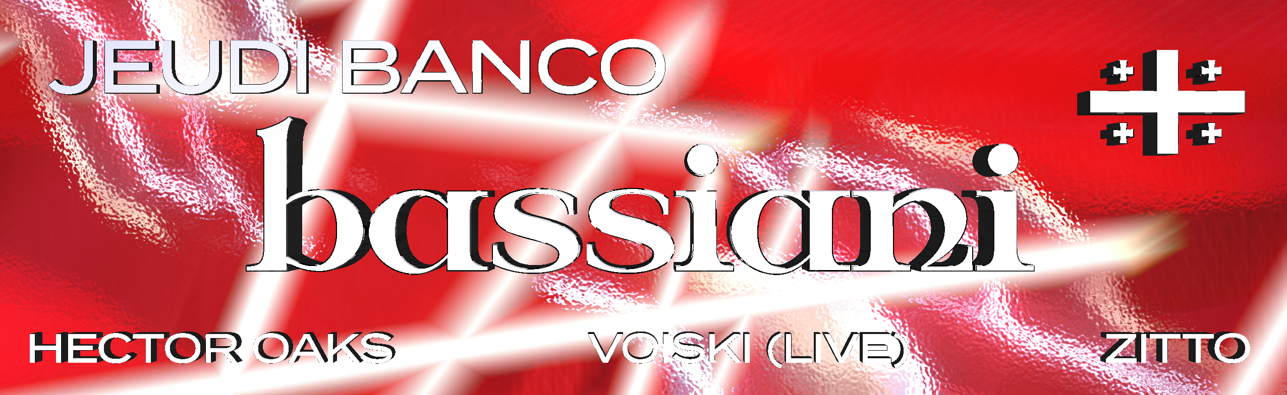 Jeudi Banco x Bassiani: Hector Oaks • Voiski (Live) • Zitto
