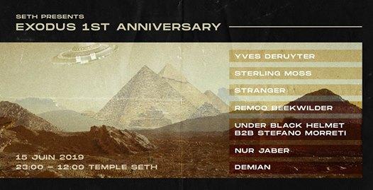 Exodus 1st Anniversary