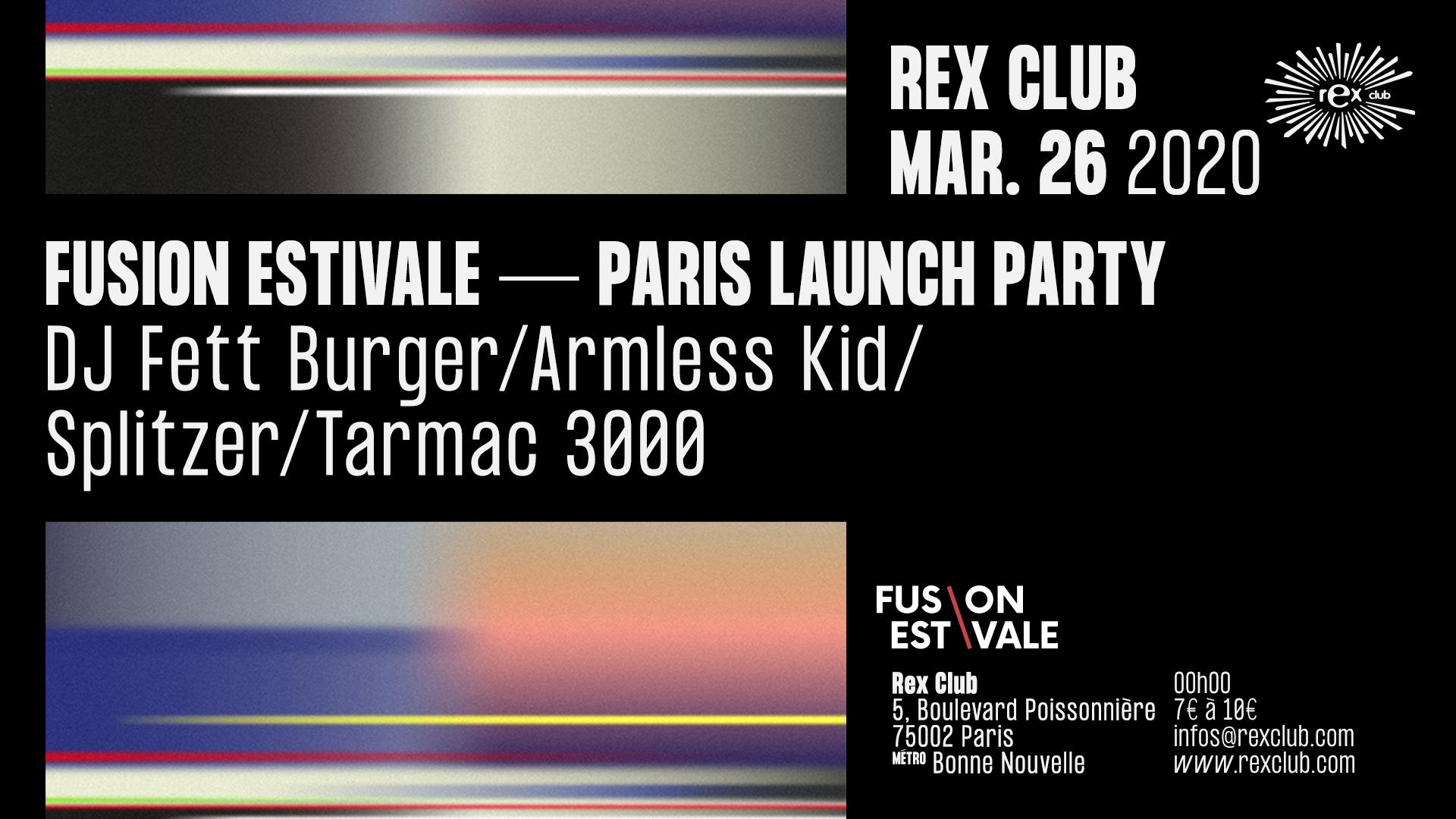 Fusion Estivale Paris Launch Party