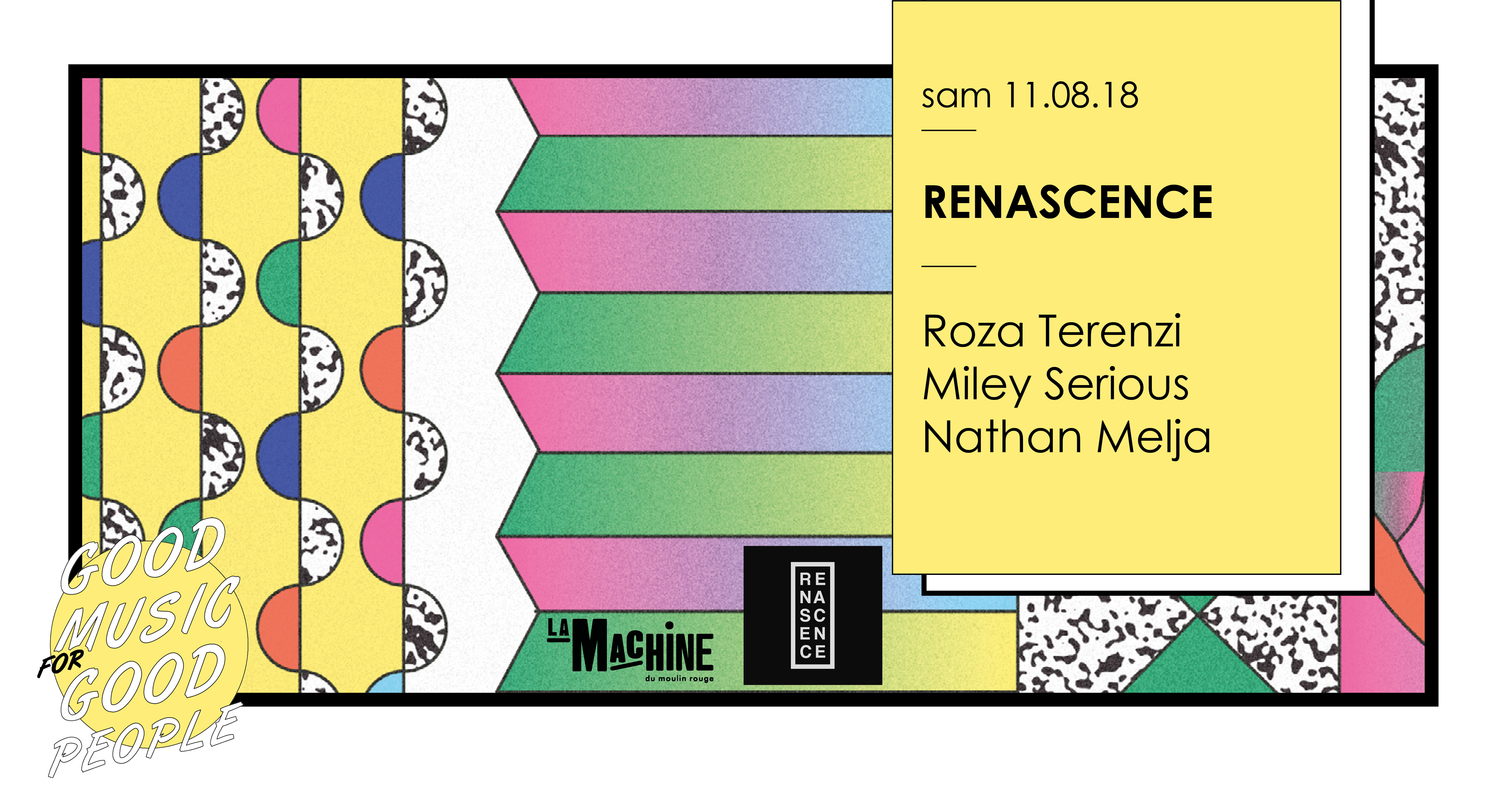 Renascence : Roza Terenzi • Miley Serious • Nathan Melja