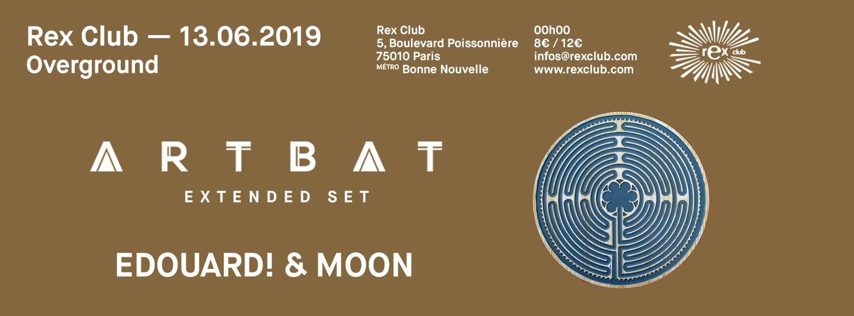 Overground: Artbat Extended Set, Edouard! & Moon