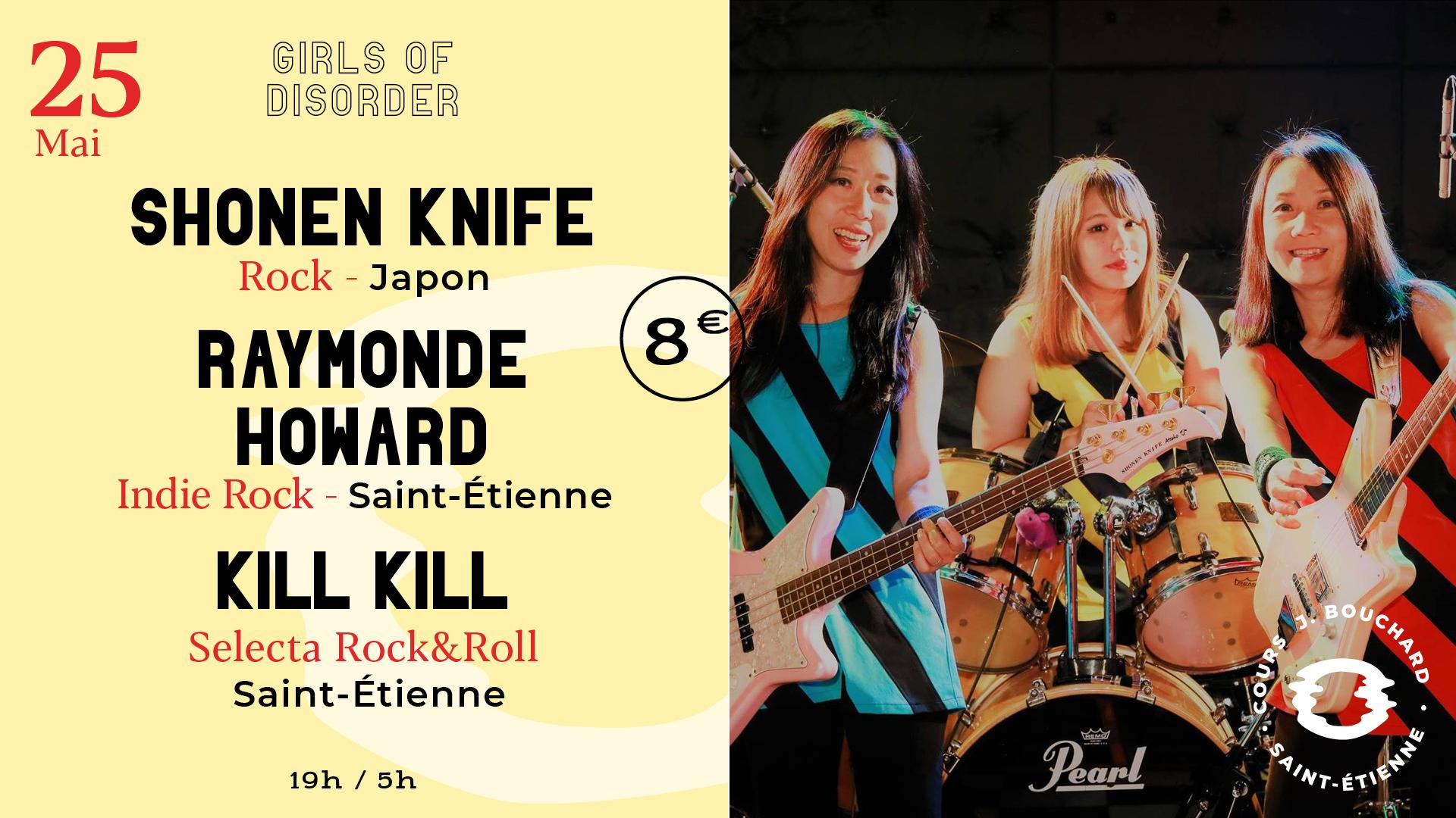 Shonen Knife w/ Raymonde Howard + Kill Kill