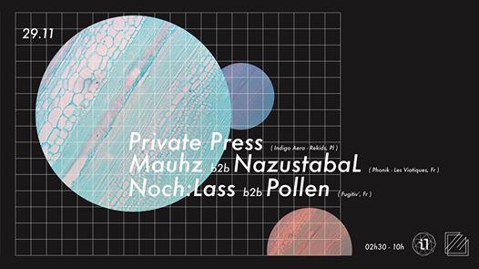 Phonik: Het Night /w Private Press (Indigo aera) & Fugitiv'crew