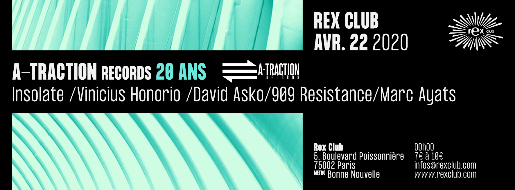 A-Traction Records 20 Years: Insolate, Vinicius Honorio, 909 Resistance, Marc Ayats, David Asko