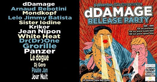 OFFNOISE present dDAMAGE Release Party