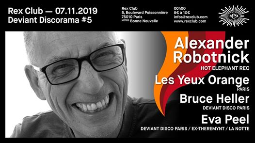 Deviant Discorama 5: Alexander Robtonick, Les Yeux Orange & more