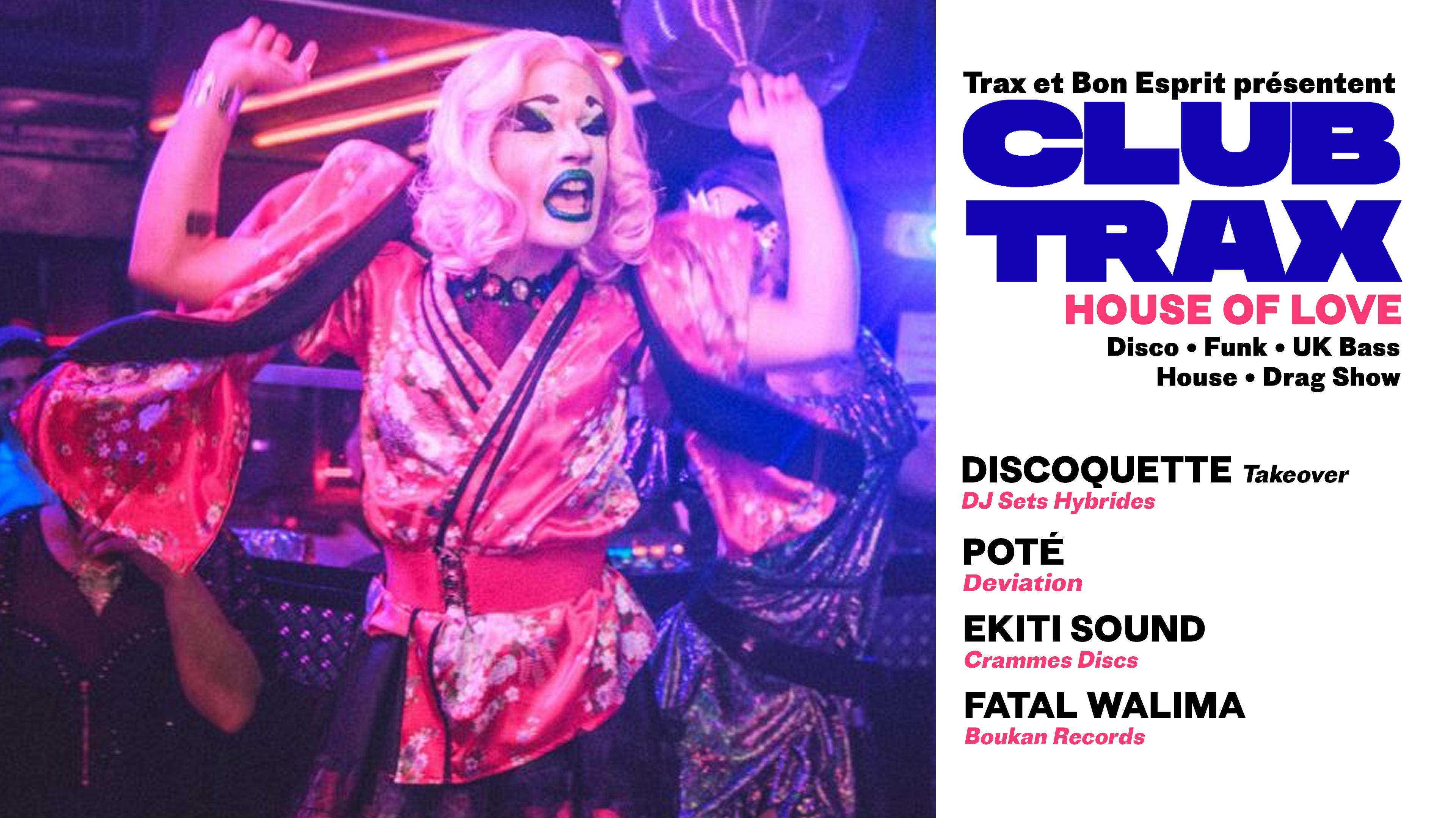 Club Trax - House of Love