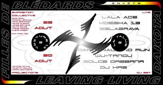 Filles De Bledards invite Leaving Living Dakota