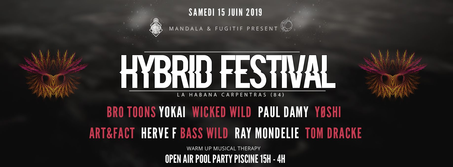 Hybrid Festival Open Air Pool Party