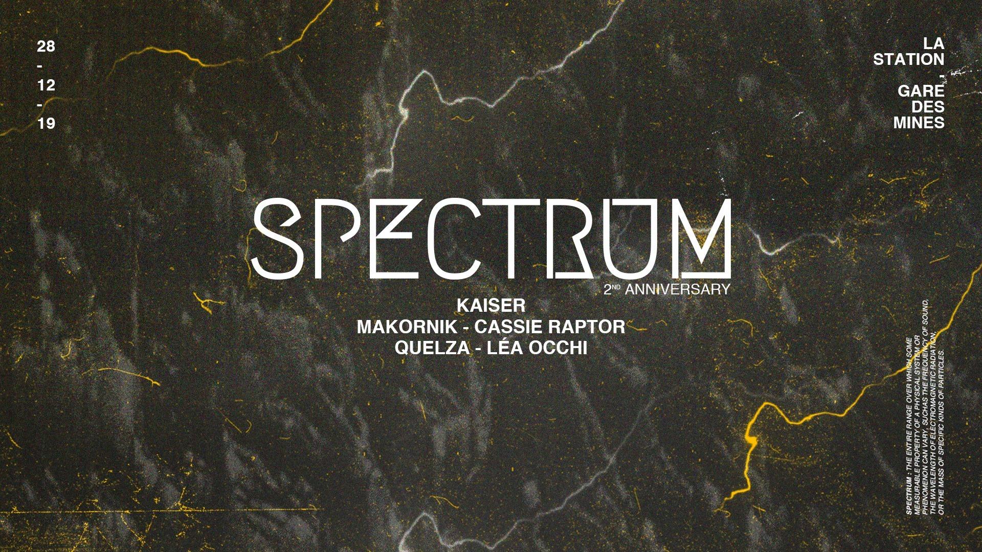 Spectrum - La Station (00h/09h)