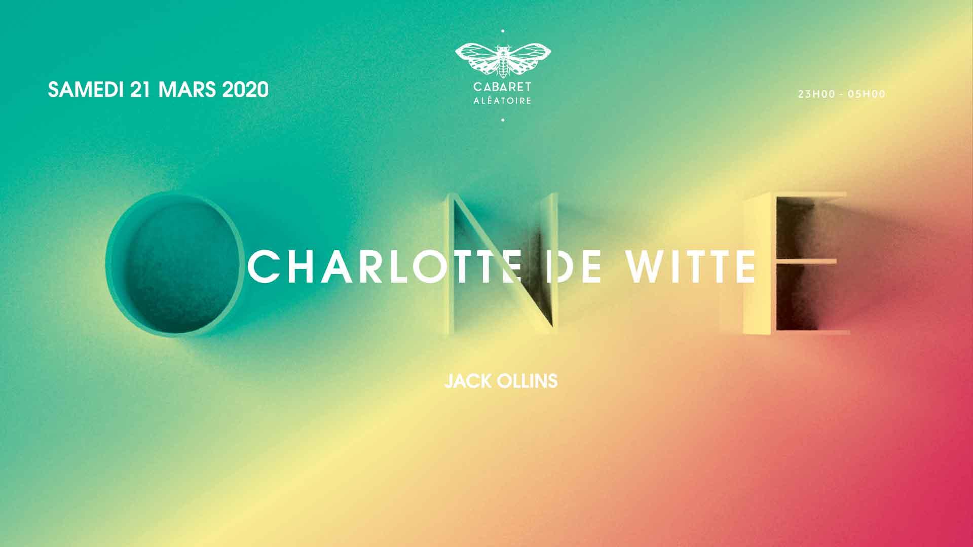 ONE | CHARLOTTE DE WITTE + JACK OLLINS