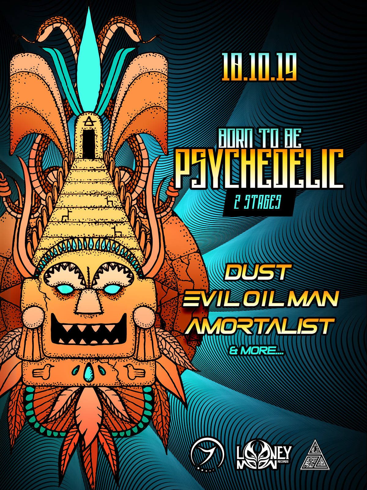 ❂Born to be Psychedelic /3 Stages ❂ Dust, Evil Oil Man &more..❂