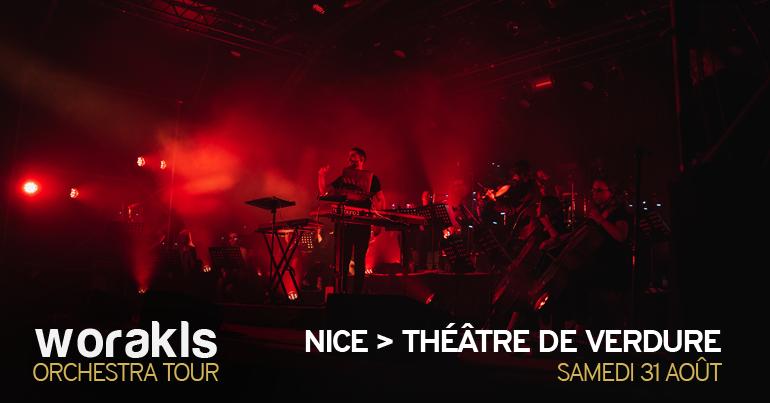 Worakls Orchestra • Théâtre de Verdure, Nice • 31 août 2019
