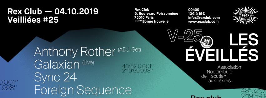 Les Éveillés: Anthony Rother, (adj-Set), Galaxian Live & more