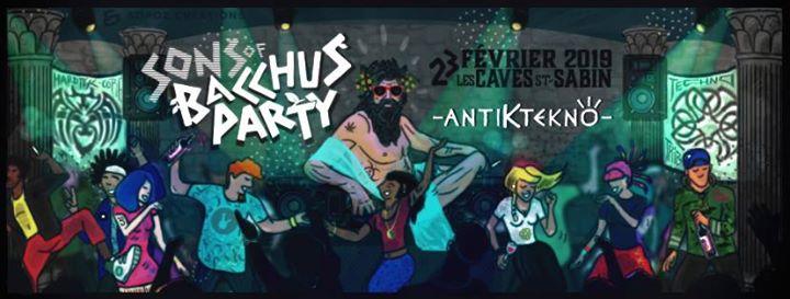 Bacchus Party : ANTIK TEKNO